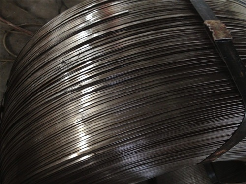 Flat Steel Cable : Mn flat steel wire for mechanical spring excellent